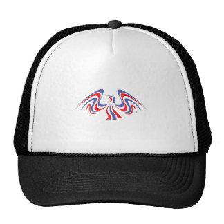 PATRIOTIC EAGLE MESH HATS