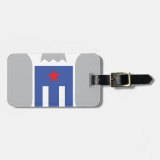 Patriotic Eagle Luggage Tag