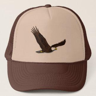 Patriotic Eagle Trucker Hat