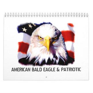 Patriotic & Eagle Wall Calendar