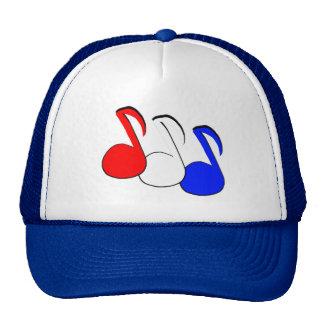 Patriotic Eighth Note Trucker Hat