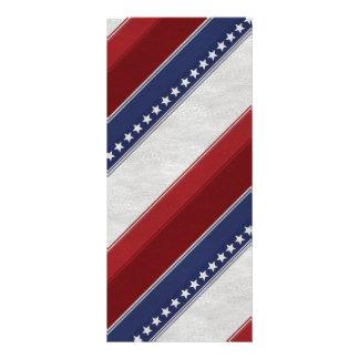 Patriotic Elements Rack Card Design