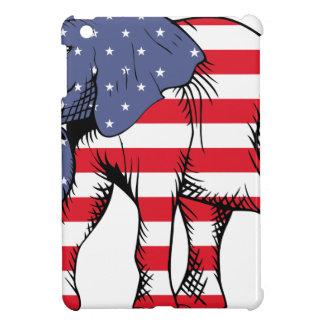 Patriotic Elephant iPad Mini Covers