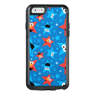 Patriotic Elmo and Cookie Monster Pattern OtterBox iPhone 6/6s Case