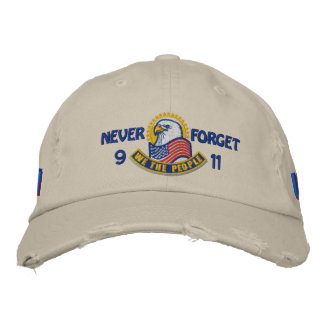 Patriotic Embroidery Embroidered Hat