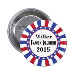 Patriotic Family Reunion 2 Inch Round Button
