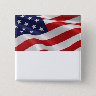 Patriotic flag button you can customize.
