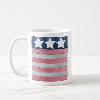 Patriotic Flag Design Coffee Mug