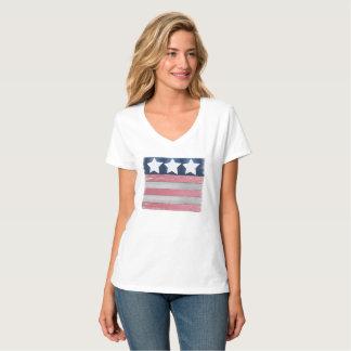 Patriotic Flag Design T shirt