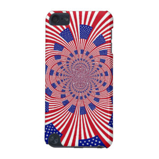 Patriotic Flag Ipod touch case