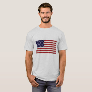 Patriotic Flag men's T T-Shirt