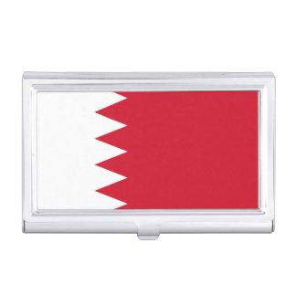 Patriotic Flag of Bahrain Business Card Holder