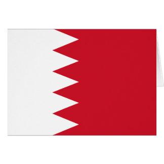 Patriotic Flag of Bahrain Card
