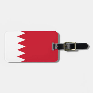 Patriotic Flag of Bahrain Luggage Tag