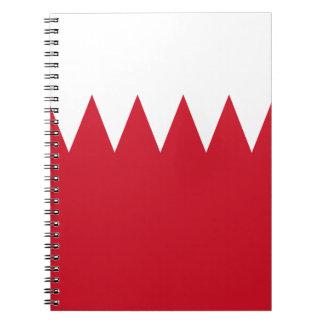 Patriotic Flag of Bahrain Notebook