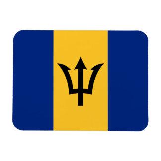 Patriotic Flag of Barbados Magnet