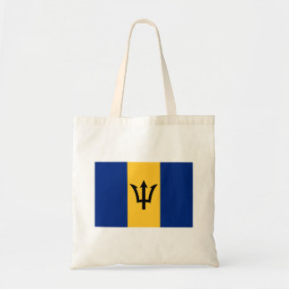 Patriotic Flag of Barbados Tote Bag