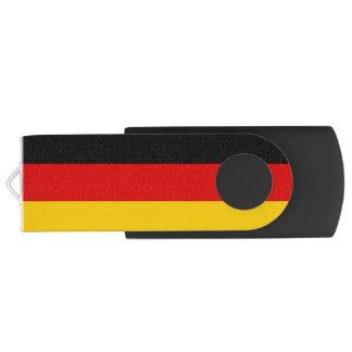 Patriotic Flag of Germany Customizable Swivel USB 2.0 Flash Drive