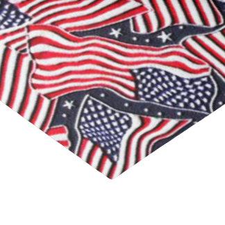 Patriotic flag pattern tissue paper