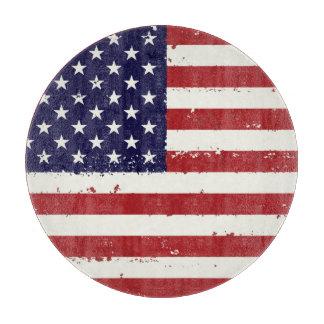 Patriotic Flag USA  - USA Flag Home Gifts Cutting Board