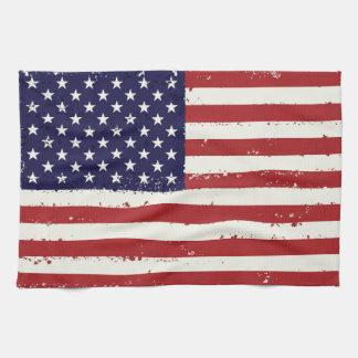 Patriotic Flag USA  - USA Flag Home Gifts Kitchen Towel
