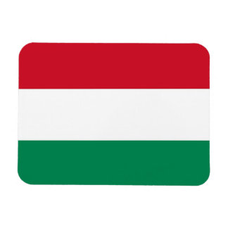 Patriotic flexible magnet with flag of Hungary