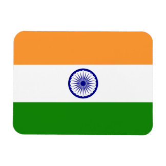 Patriotic flexible magnet with flag of India