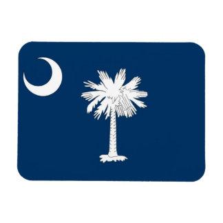 Patriotic flexible magnet with South Carolina flag