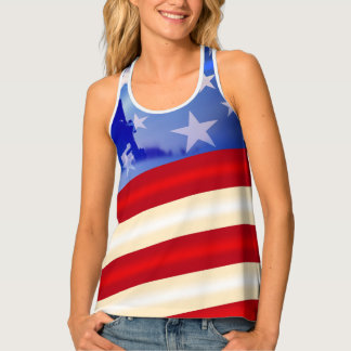 Patriotic Fourth of July/ Veterans Day Tank Top