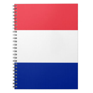 Patriotic French Flag Notebook