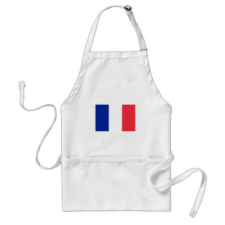 Patriotic French Flag Standard Apron