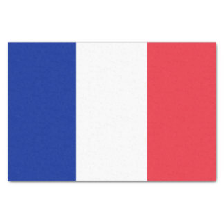 Patriotic French Flag Tissue Paper