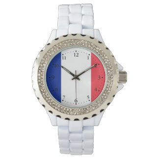 Patriotic French Flag Watch