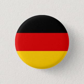 Patriotic German Flag 1 Inch Round Button