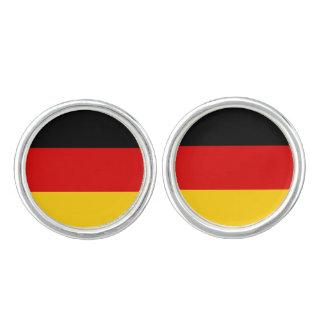 Patriotic German Flag Cufflinks