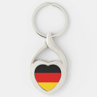 Patriotic German Flag Keychain