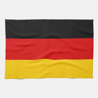 Patriotic German Flag Kitchen Towel
