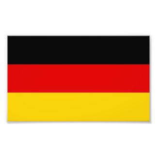 Patriotic German Flag Photo Print