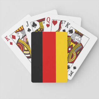 Patriotic German Flag Playing Cards