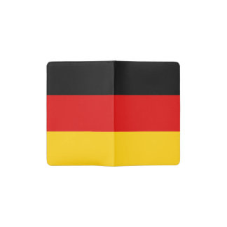 Patriotic German Flag Pocket Moleskine Notebook