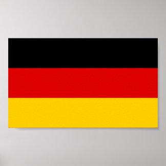 Patriotic German Flag Poster