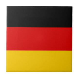 Patriotic German Flag Tile