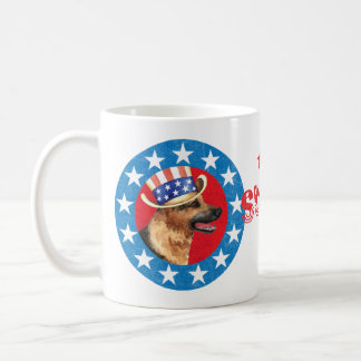 Patriotic German Shepherd Coffee Mug