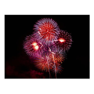 Patriotic Gifts Fireworks from the 4th of July Postcard