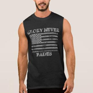 Patriotic Glory Never Fades Sleeveless Shirt
