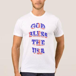 Patriotic God Bless The USA Shirts