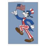 Patriotic Goofy Card
