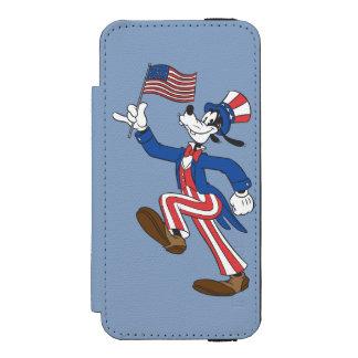 Patriotic Goofy Incipio Watson™ iPhone 5 Wallet Case