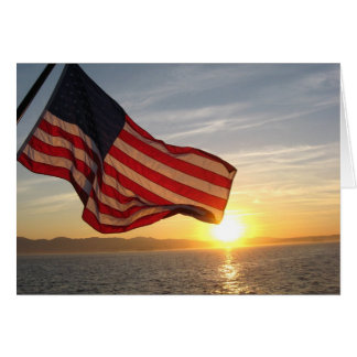 Patriotic Greetings Card