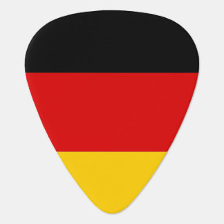 Patriotic guitar pick with Flag of Germany